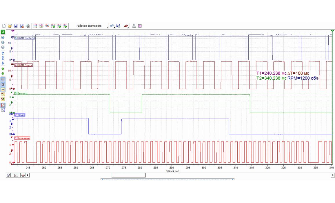 Good timing - CKP & CKM signal - BMW - 3 E90/E91/E92/E93 2004-2013 : Image 1