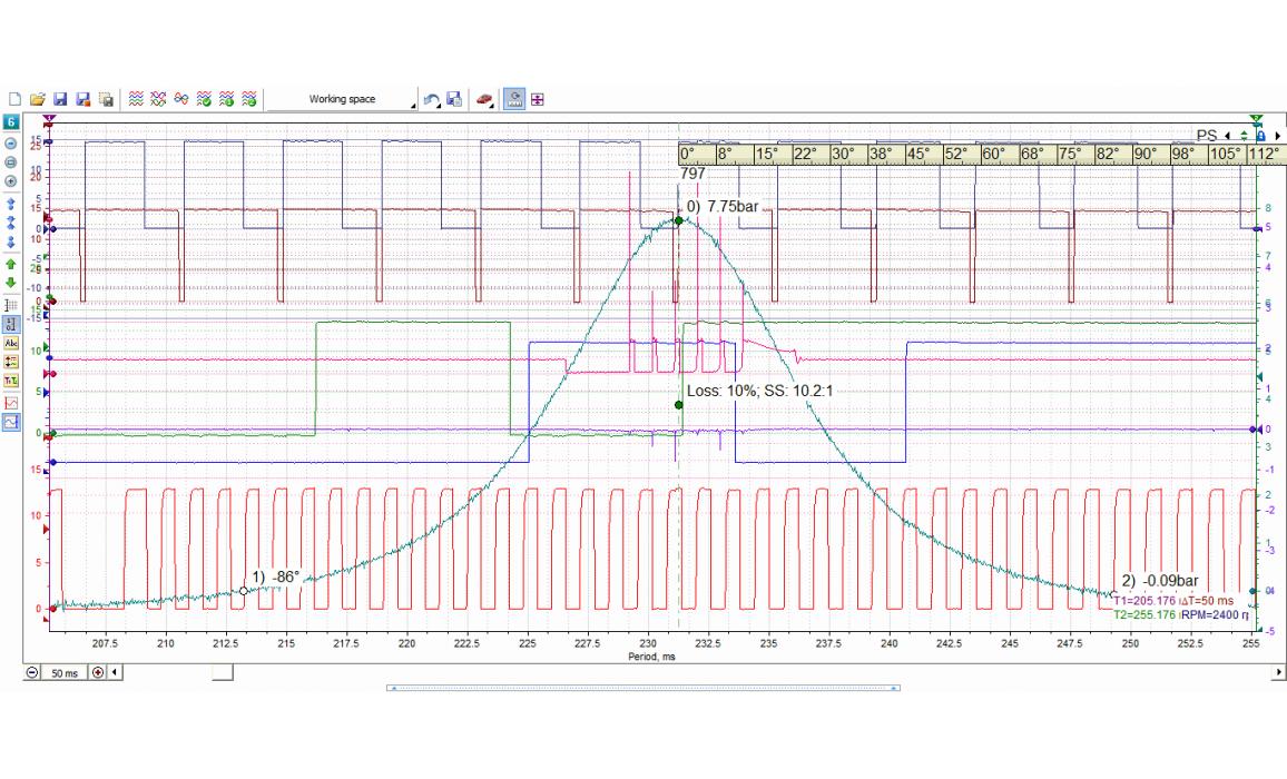 Good timing - CKP, CKM & in-cylinder pressure - BMW - 3 E90/E91/E92/E93 2004-2013 : Image 1
