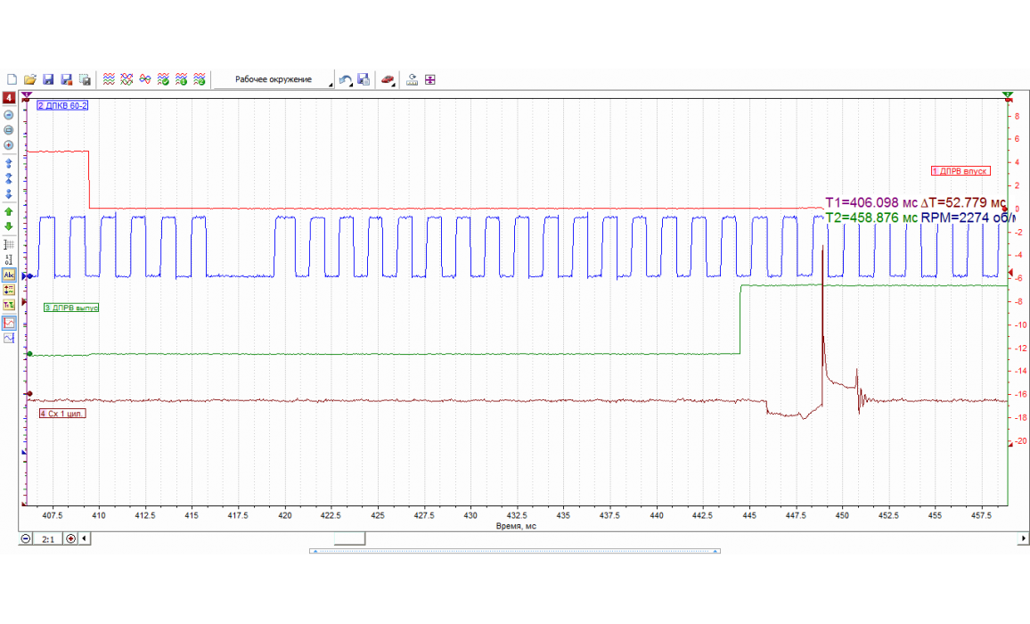 Good timing - CKP & CKM signal - Hyundai - Tucson (ix35) 2010-2015 : Image 1