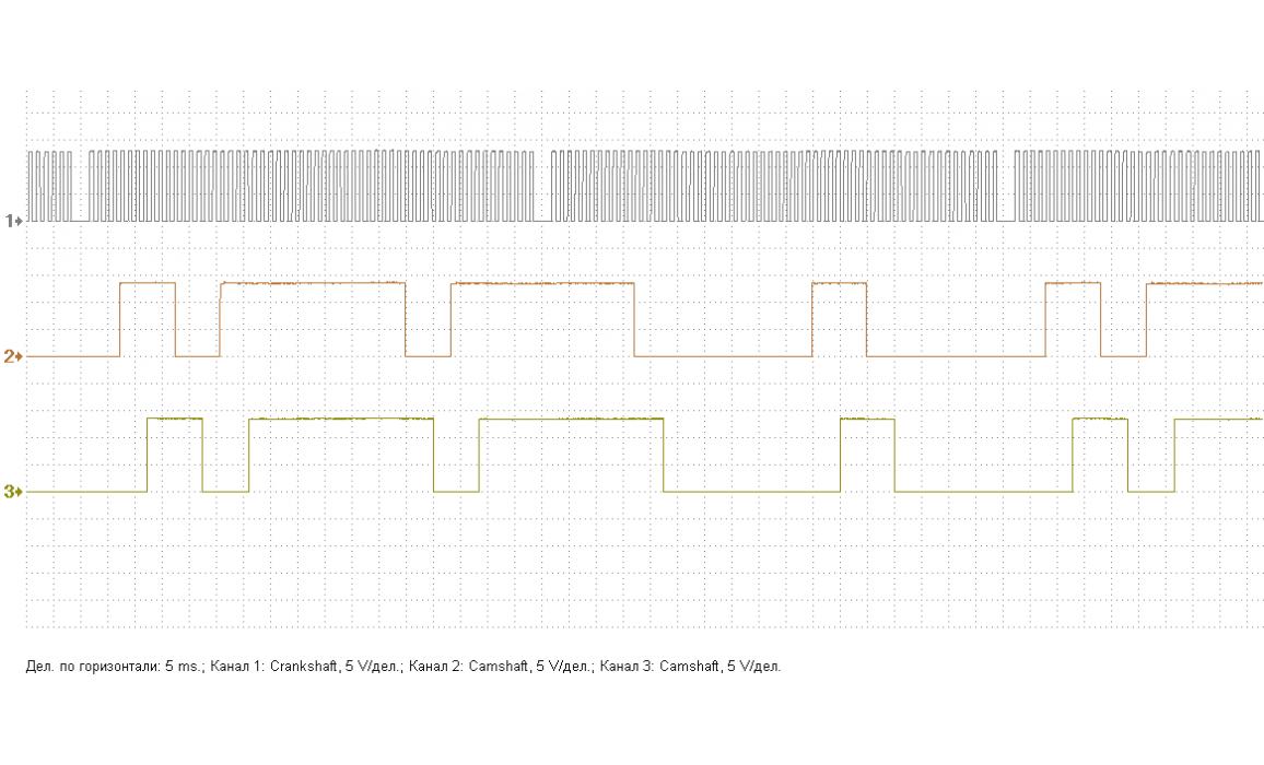 Эталон синхронизации - Сигнал ДПКВ + ДПРВ - BMW - 3 E46 1997-2006 : Image 2