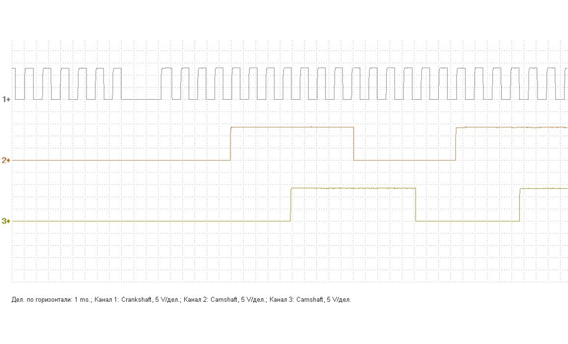 Эталон синхронизации - Сигнал ДПКВ + ДПРВ - BMW - 3 E46 1997-2006 : Image 1