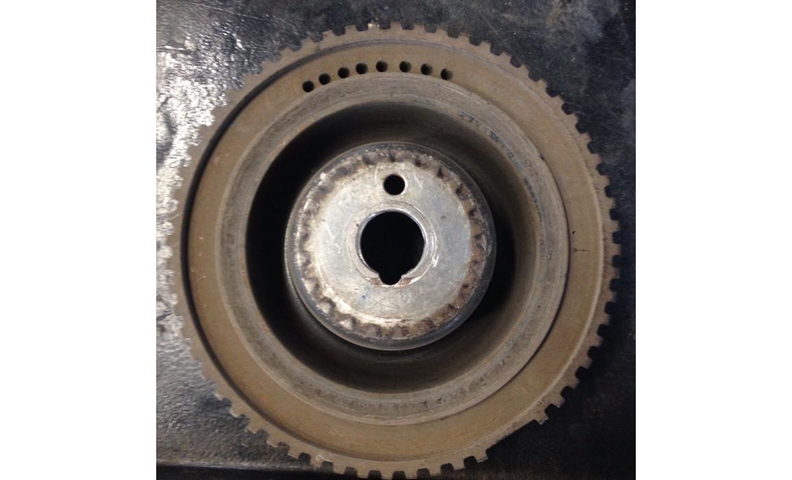 Поврежден задающий диск - Выходное напряжение - ВАЗ - Lada Granta 2011- : Image 4