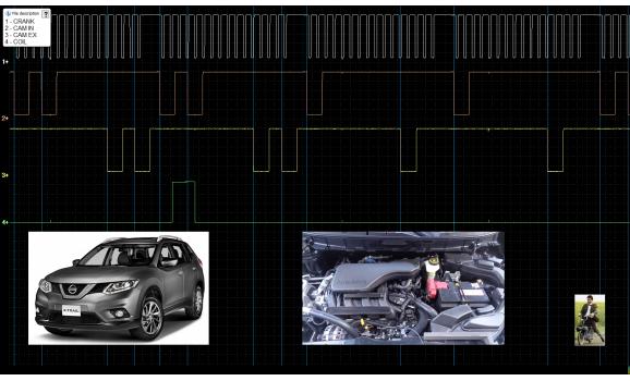 Good timing - CKP & CKM signal - Nissan - X-Trail 2013- : Image 1