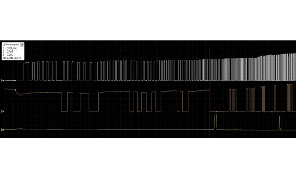 Faulty CMP sensor - Output voltage - Nissan - Almera Classic 2006-2012 : Image 1