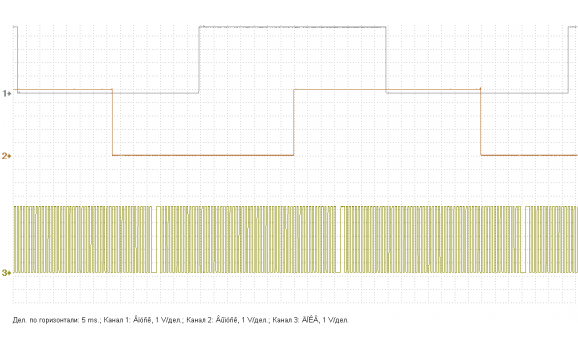 Эталон синхронизации - Сигнал ДПКВ + ДПРВ - Opel - Astra H 2004–2014 : Image 1