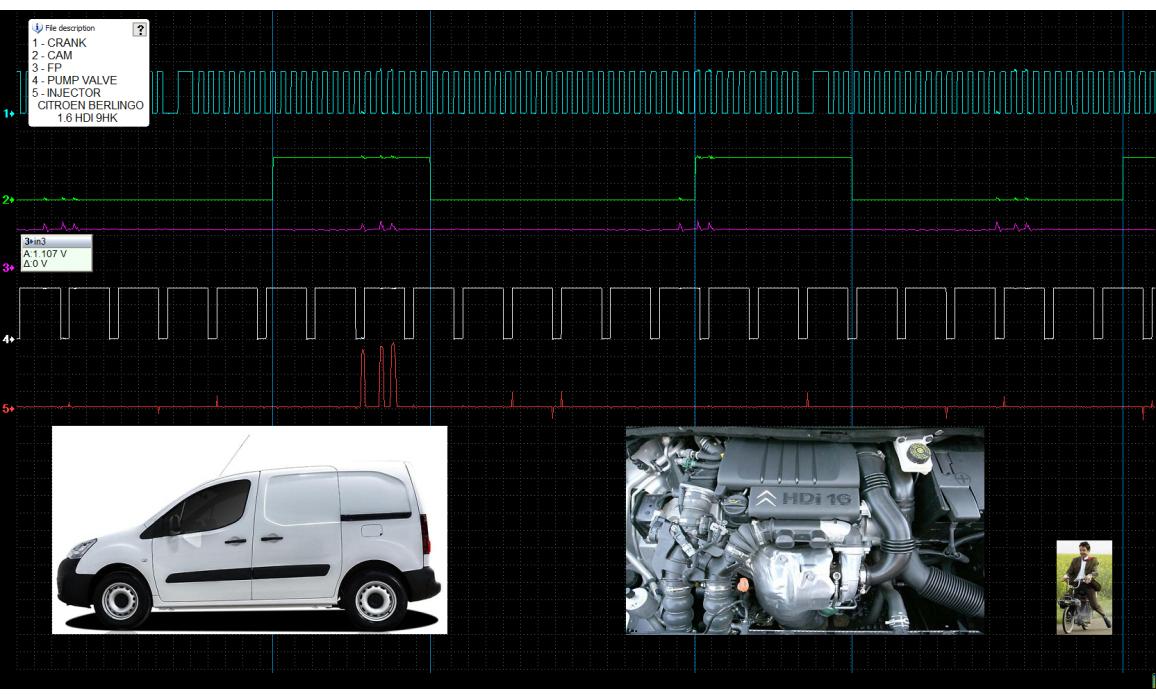 Good timing - CKP & CKM signal - Citroën - Berlingo 2008-2018 : Image 1