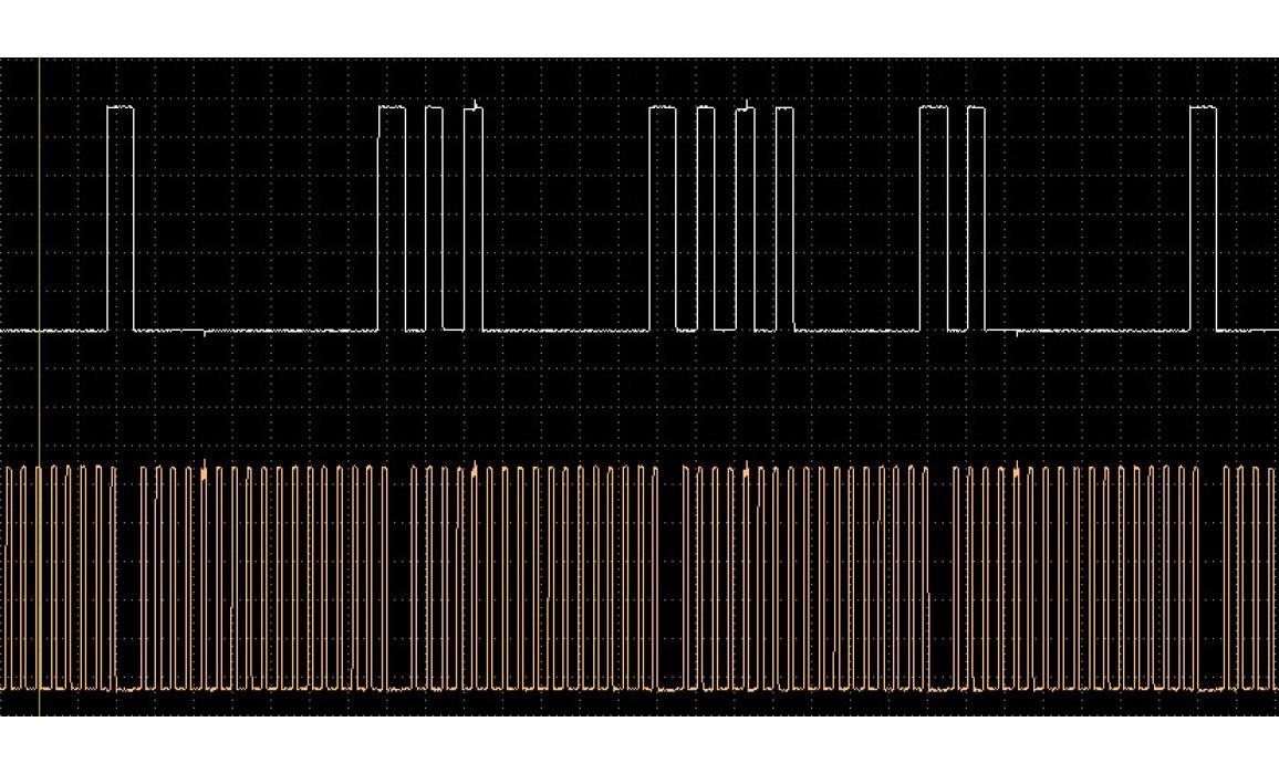 Эталон синхронизации - Сигнал ДПКВ + ДПРВ - Nissan - Almera 2000–2006 : Image 1