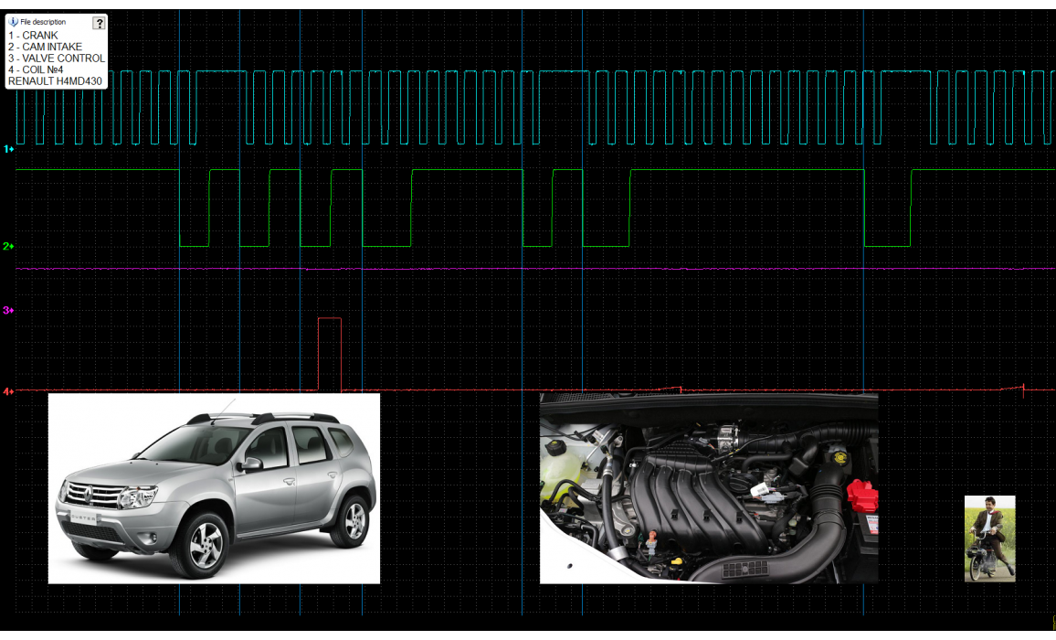 Good timing - CKP & CKM signal - Renault - Duster 2009- : Image 2