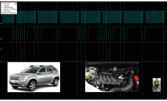 Эталон синхронизации - Сигнал ДПКВ + ДПРВ - Renault - Duster 2009- : Image 1