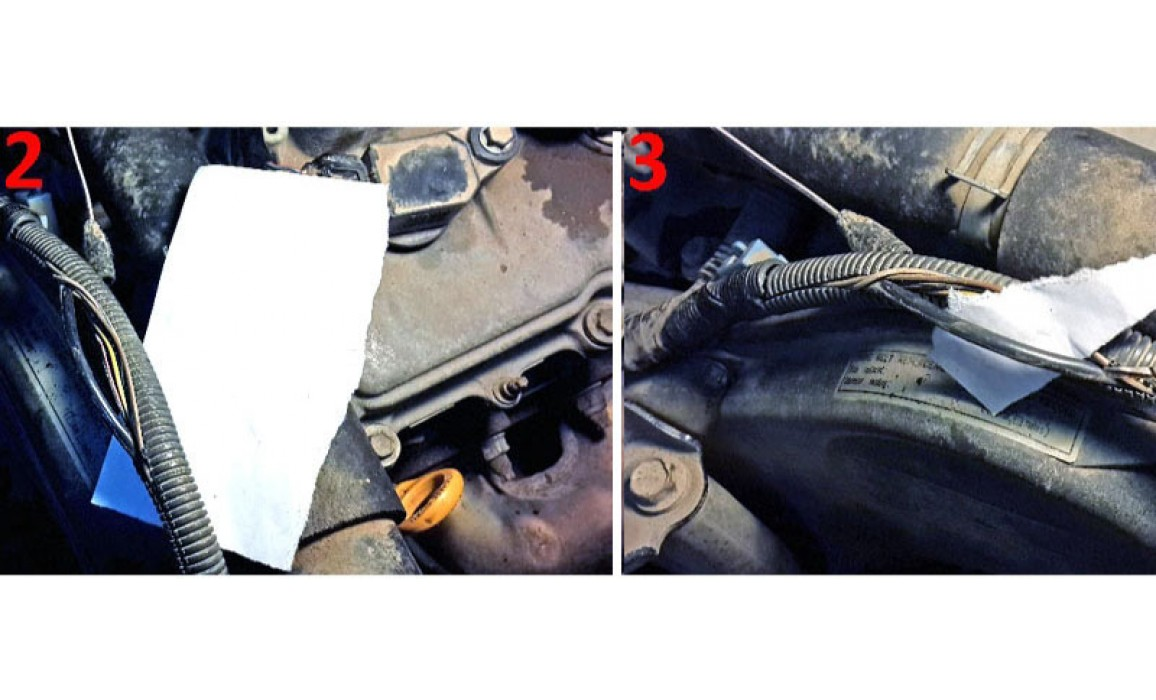 How to connect a scope - CKP & CKM signal - Lexus - RX300 1999–2003 : Image 2