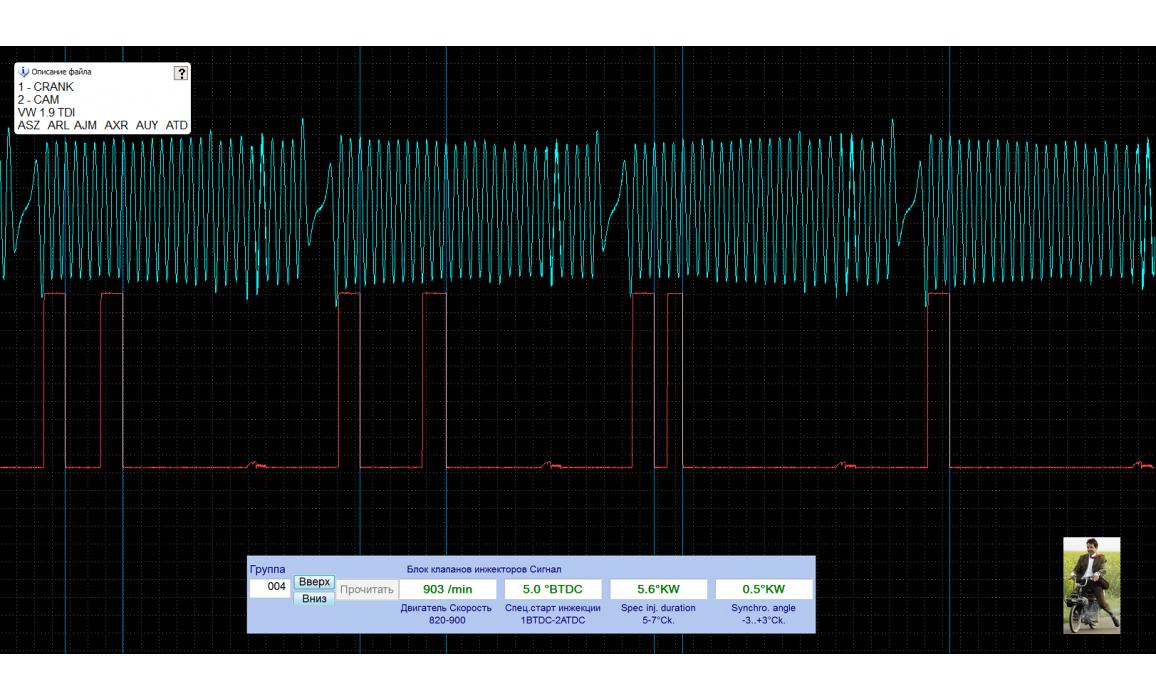 Good timing - CKP & CKM signal - VW - Golf 4 1997-2006 : Image 1