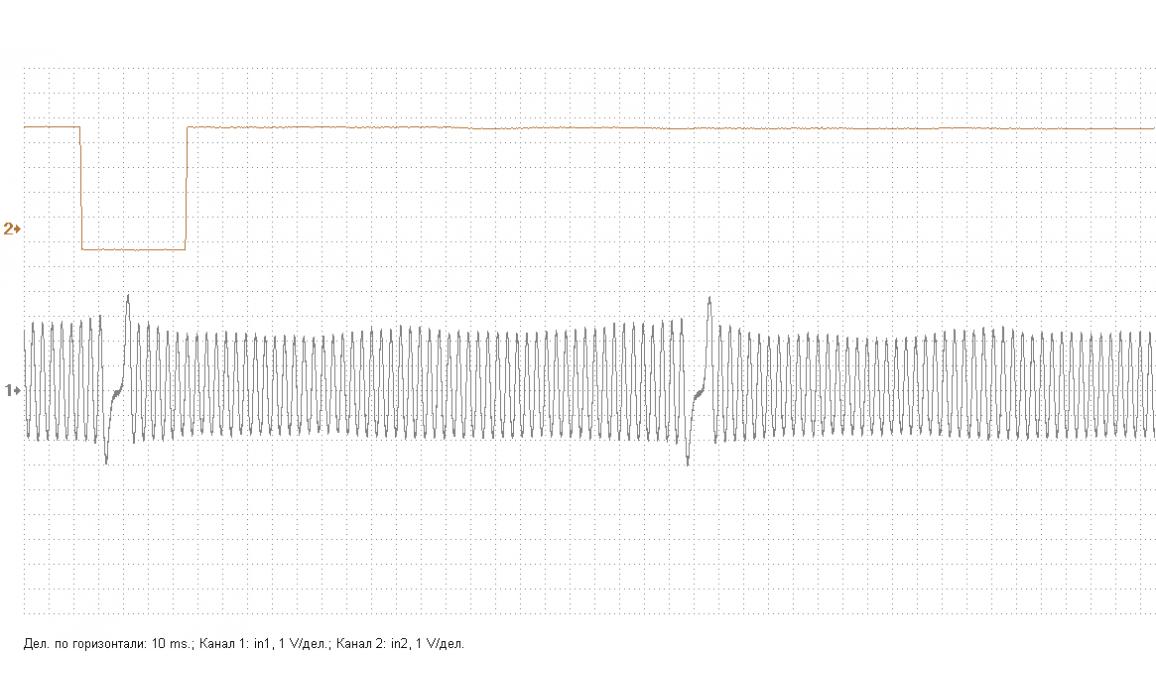 Эталон синхронизации - Сигнал ДПКВ + ДПРВ - Opel - Astra H 2004–2014 : Image 2