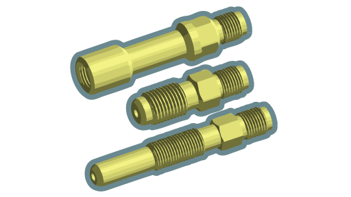 adapters set for PS100 pressure sensor