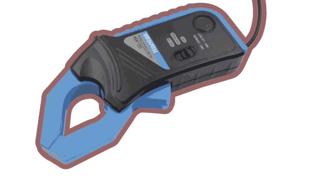 токовые клещи Hantek CC-650