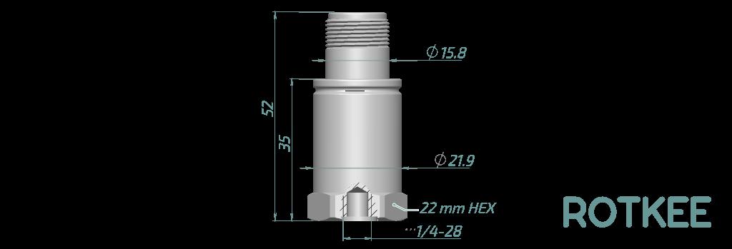 accelerometer dimensions