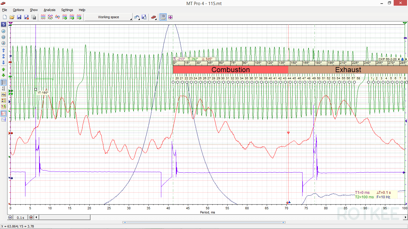 MT Pro 4.1 oscilloscope window screenshot 3