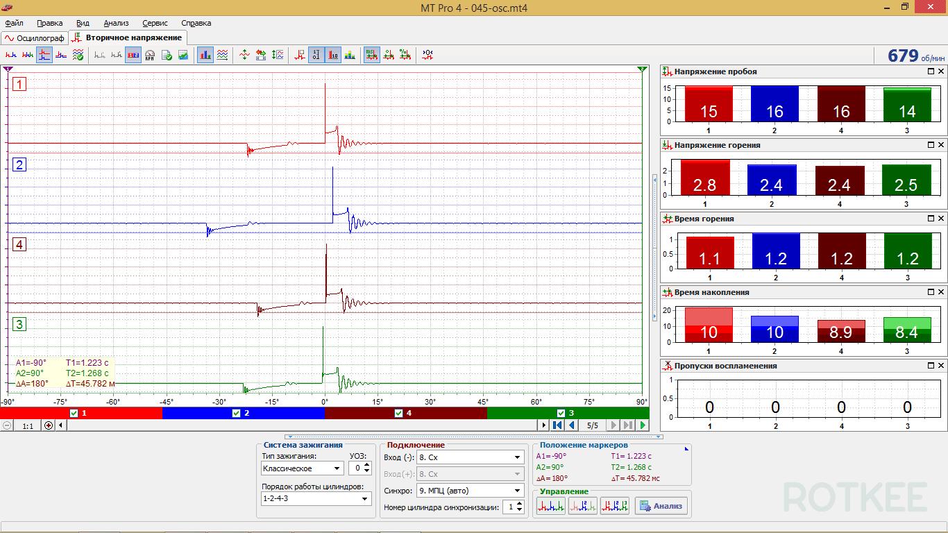 окно вторичного напряжения MT Pro 4.1 скриншот 2