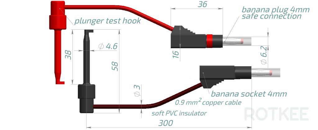 SP-hook test hook probes drawing